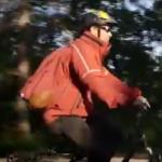 Arya Sharma on bike 3SAT