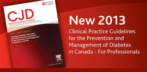 Canadian Diabetes Practice Guidelines 2013