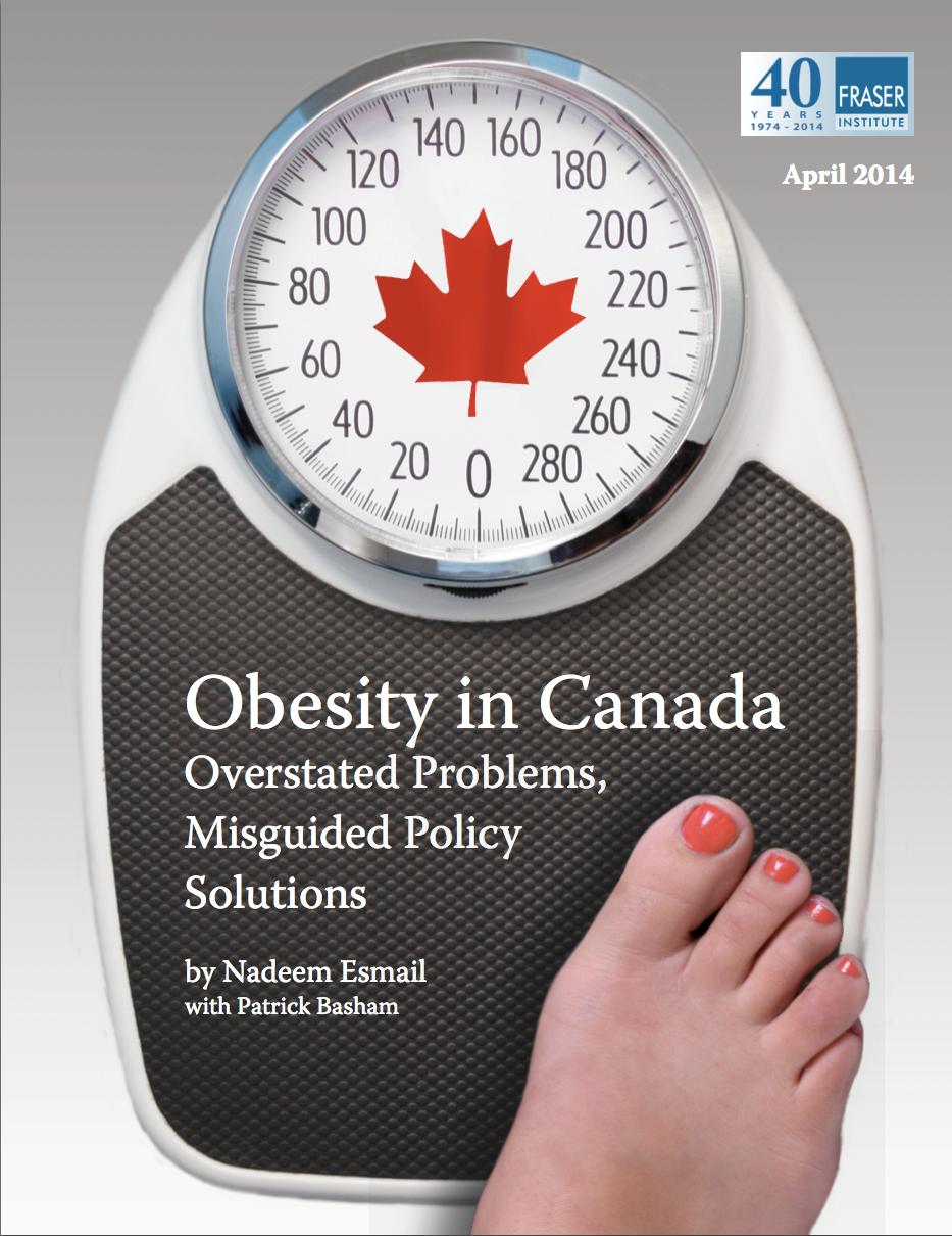 Fraser Institute Obesity in Canada 2014