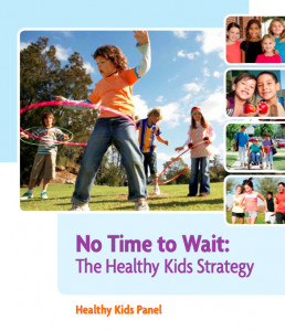 No Time to Wait - Ontario Healthy Kids
