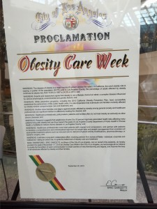 Obesity Care Proclamation LA 2015