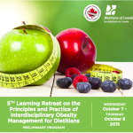 5th Annual Dietitian Learning Retreat For Obesity Management