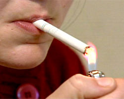 Does Teen Smoking Promote Obesity?