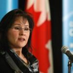 Leona Aglukkaq, the Honourable Federal Minister of Health